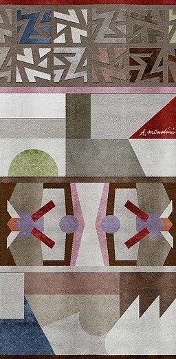 Alessandro Mendini rug