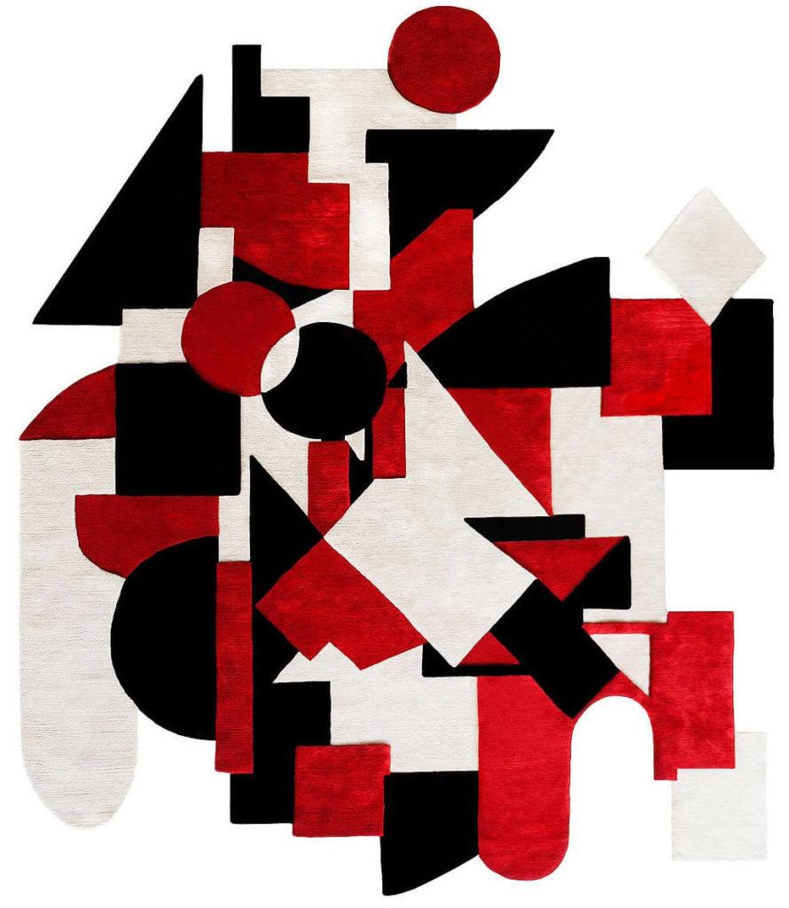 Ancident vision Avaf rug