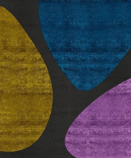 Artep tappeto design organic CELL 1
