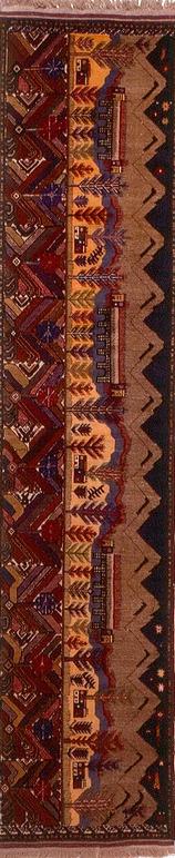Afghan rug Belucistan