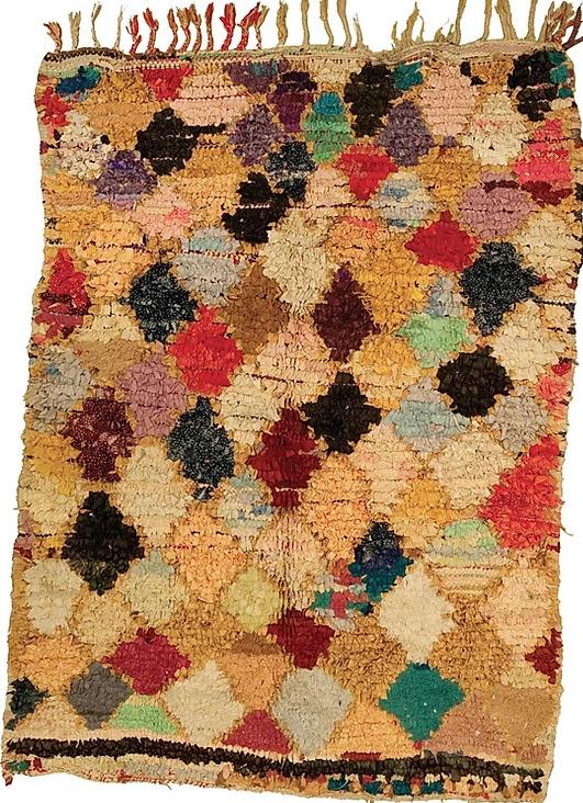Maroccan rug BOUCHEROUITE